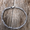 Silver Tennis Bracelet with clear crystals – Nedi